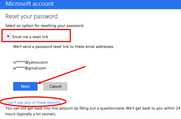 How do I get my Hotmail password if I forgot it